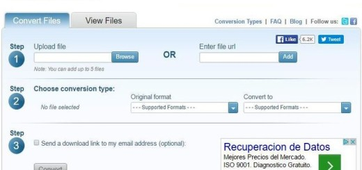 DocsPal: potente conversor de archivos multiformato
