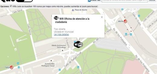 QueWiFi: buscando puntos de acceso WiFi gratuitos