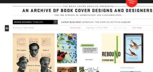 The Book Cover Archive, directorio de portadas de libros