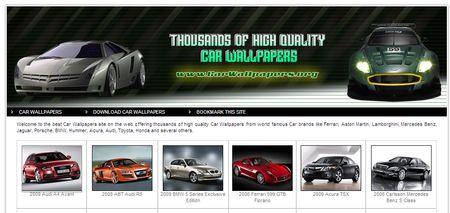 CarWallpapers - Miles de wallpapers de automóviles
