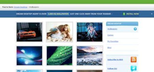 Dream Desktop, Miles de Wallpapers para tu Escritorio