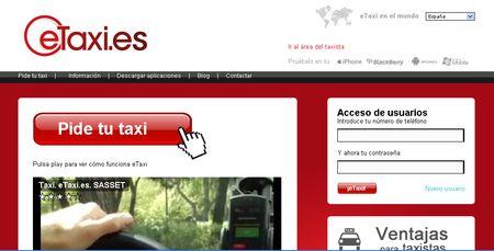eTaxi: Aplicacion web, y movil, para pedir un taxi