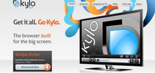 Kylo, Navegador para grandes pantallas y HDTV