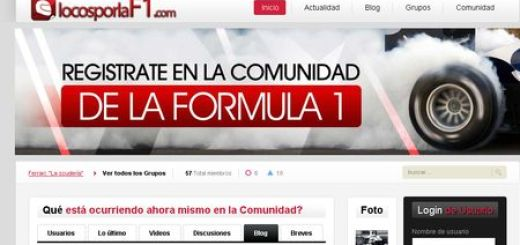 locosporlaF1, red social sobre Formula 1