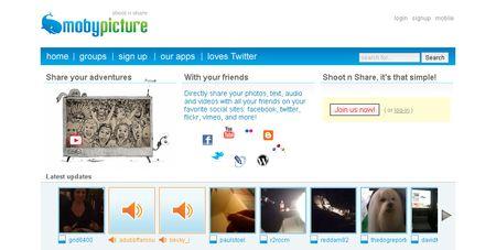 mobypicture, compartiendo archivos multimedia en redes sociales