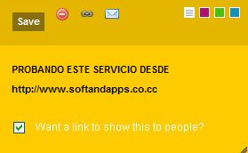 Crea tus Post-it online, con Noterr