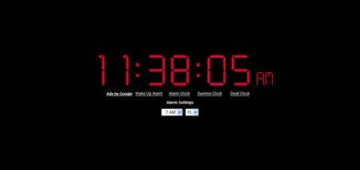 Online Alarm Clock, Reloj despertador online