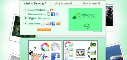 Showzey, Unifica en un solo sitio tus fotos de Gmail, Facebook, Picasa Web y Flickr