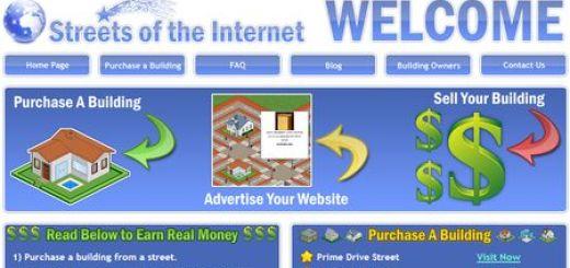 Streets of the internet, Directorio web con forma de ciudad