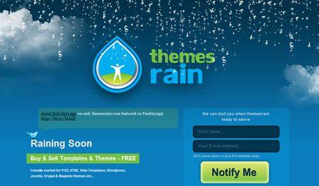 ThemesRain, Compra y vende temas para Wordpress, Drupal, Joomla, ...