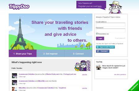 TrippyDoo, Red social de viajes