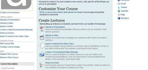 Udemy, crea y publica cursos online