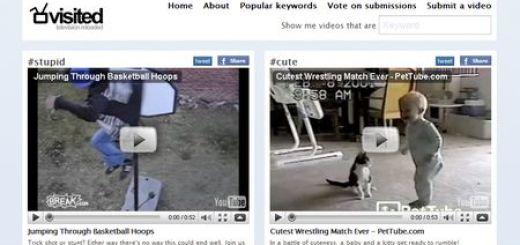 Visited, Comunidad colaborativa de videos etiquetados