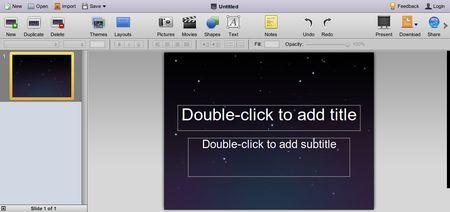 280 Slides, Crea presentaciones online y gratis