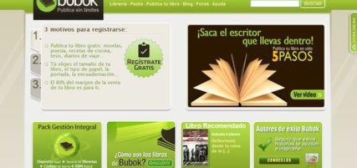 Bubok, Publica tu libro electrónico o en papel gratis