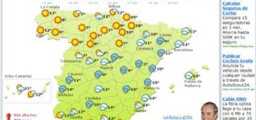 6 servicios web para ver la prevision meteorologica