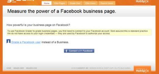 Facebook Grader, Conoce tu popularidad en Facebook