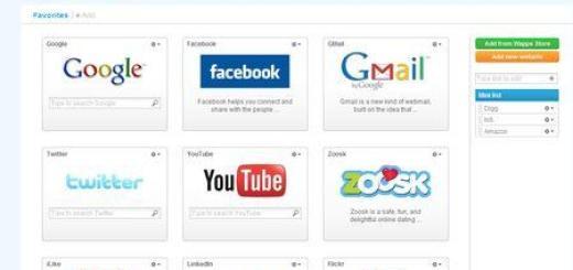 Getwapps, organiza tus Web Apps en un solo sitio
