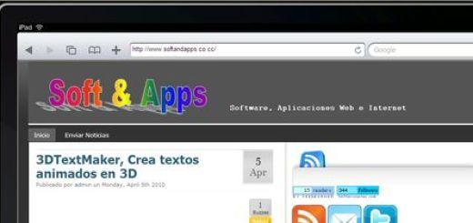 iPad Peek, Como se mostrara tu blog en el iPad