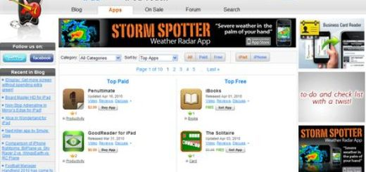 iPhoneapplicationlist, Apps para iPhone, iPod e iPad