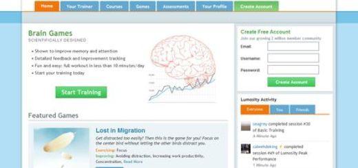 Lumosity, juegos Brain Training para ejercitar tu cerebro