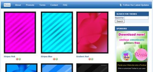 MyThemeDesign, Fondos para tu iPad
