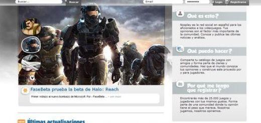 Nosplay.com, Red social en español para los aficionados a los videojuegos