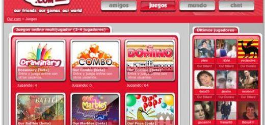 Our.com, una comunidad de juegos multijugador online