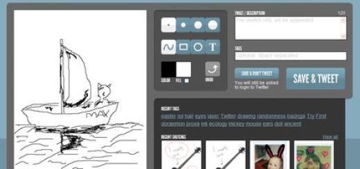 Penolo, Comparte tus dibujos y bocetos en Twitter