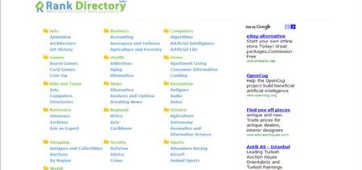 RankDirectory, nuevo directorio para promover tu web o blog