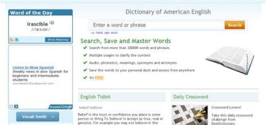 BeeDictionary, Aprende a pronunciar en ingles americano