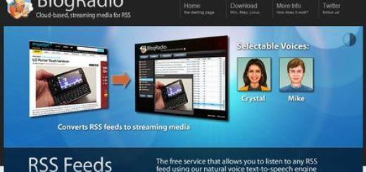 BlogRadio, aplicación que te lee los feed de tus blog preferidos