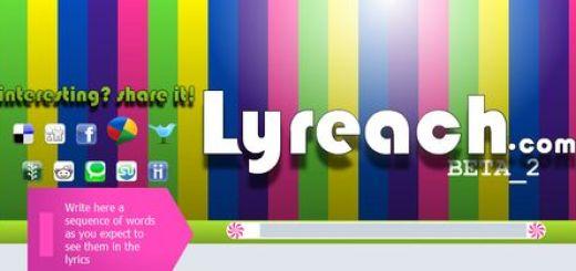 Lyreach, Encuentra una cancion de la que solo conoces la letra