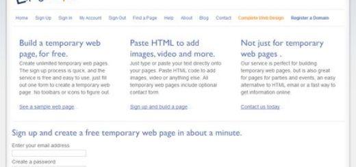 pageeasy - Crea una pagina web temporal, gratis y rapido