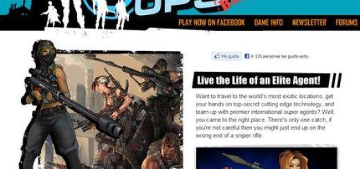 The Agency Covert Ops, Juego de detectives de Sony para Facebook