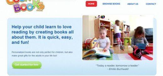 CookUpBooks, Libros personalizables y gratis para los pequeños