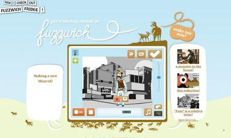 Fuzzwich: Crea videos animados online, gratis y facil