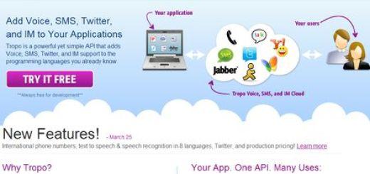 Tropo: Api para implementar Voz, SMS, Twitter o Mensajeria a tus aplicaciones