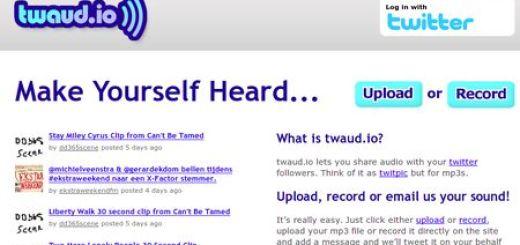 Twaud.io, Comparte tu voz o un audio con tus followers de Twitter