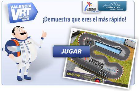 Valencia Racing Team, Juego de Formula 1 para Facebook