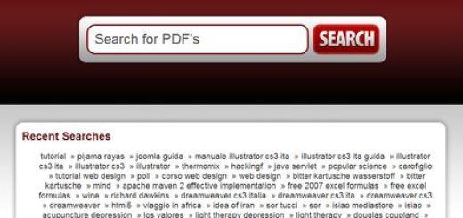PdfPick, Potente y rapido buscador de archivos PDF