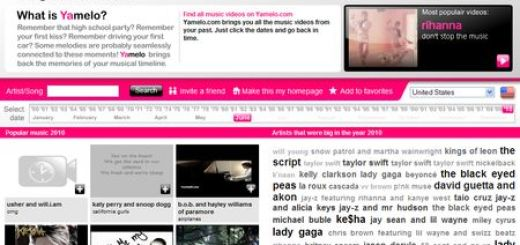 Yamelo, Busca videos musicales por años y epocas