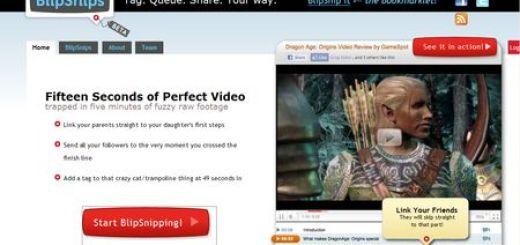 BlipSnips, Comparte solo la parte del video que deseas