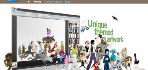 Creaza, Conjunto de actividades creativas para niños