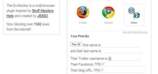 Ex-blocker, Borra cualquier rastro de tu Ex en internet