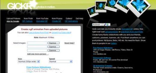 Gickr, Convierte videos de Youtube en gif o crealos con tus imagenes