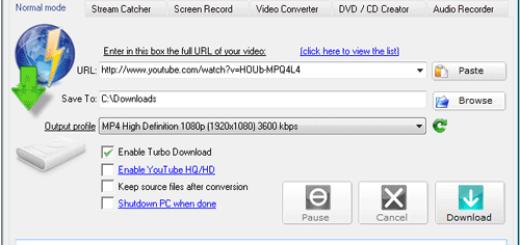 aTube Catcher - Descarga videos de YouTube, MetaCafe, MySpace, Megavideo, etc