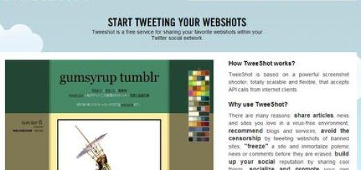 TweeShot, Realiza screenshots y compartelos en Twitter
