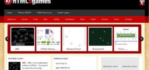 HTML5games, Directorio de Juegos en HTML5