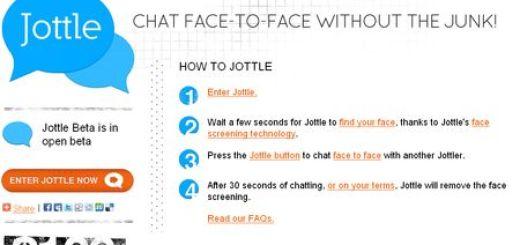 Jottle, Un Chatroulette con detector de caras